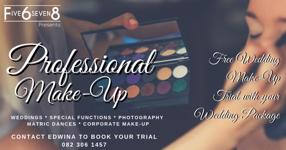 Wedding Make-Up Johannesburg