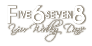 Five6seven8 Wedding Logo